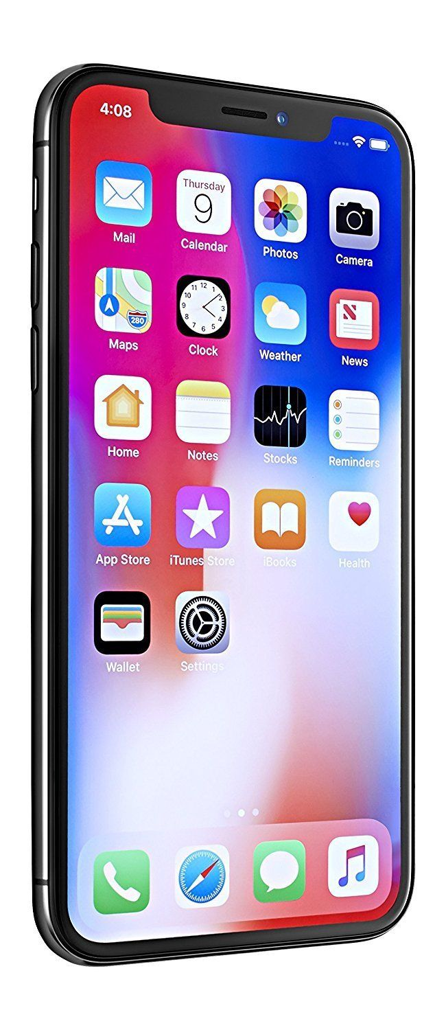 """Apple iPhone X, 5.8"""", 256 GB Space Gray AT&T (Certified"""