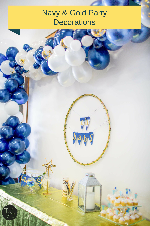 Classy Nautical Baby Shower Nautical Baby Shower Decorations