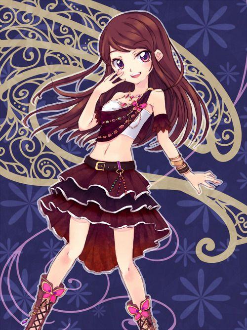 Ran Aikatsu For Her Dresses And Voice Anime Princess Popular Anime Anime Characters