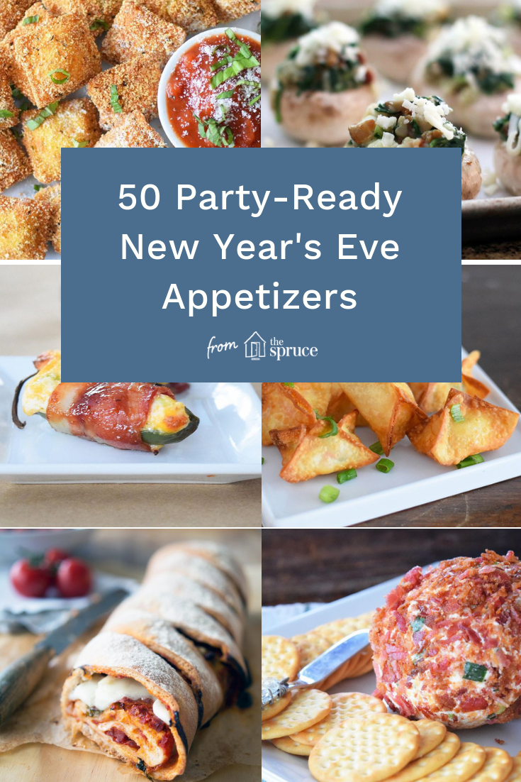 50 Party Ready New Year S Eve Appetizers Ringing In The New Year