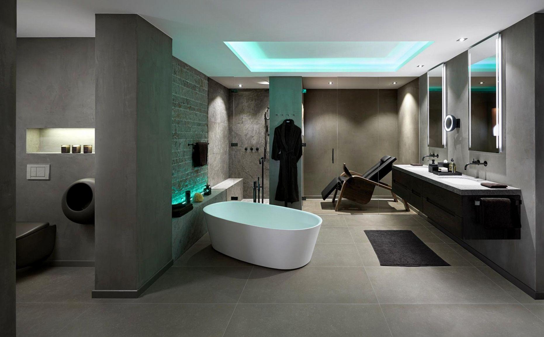 Luxusbadezimmer Direkt Am Schlafzimmer Luxus Villa Luxushaus Badezimmer Einrichtung
