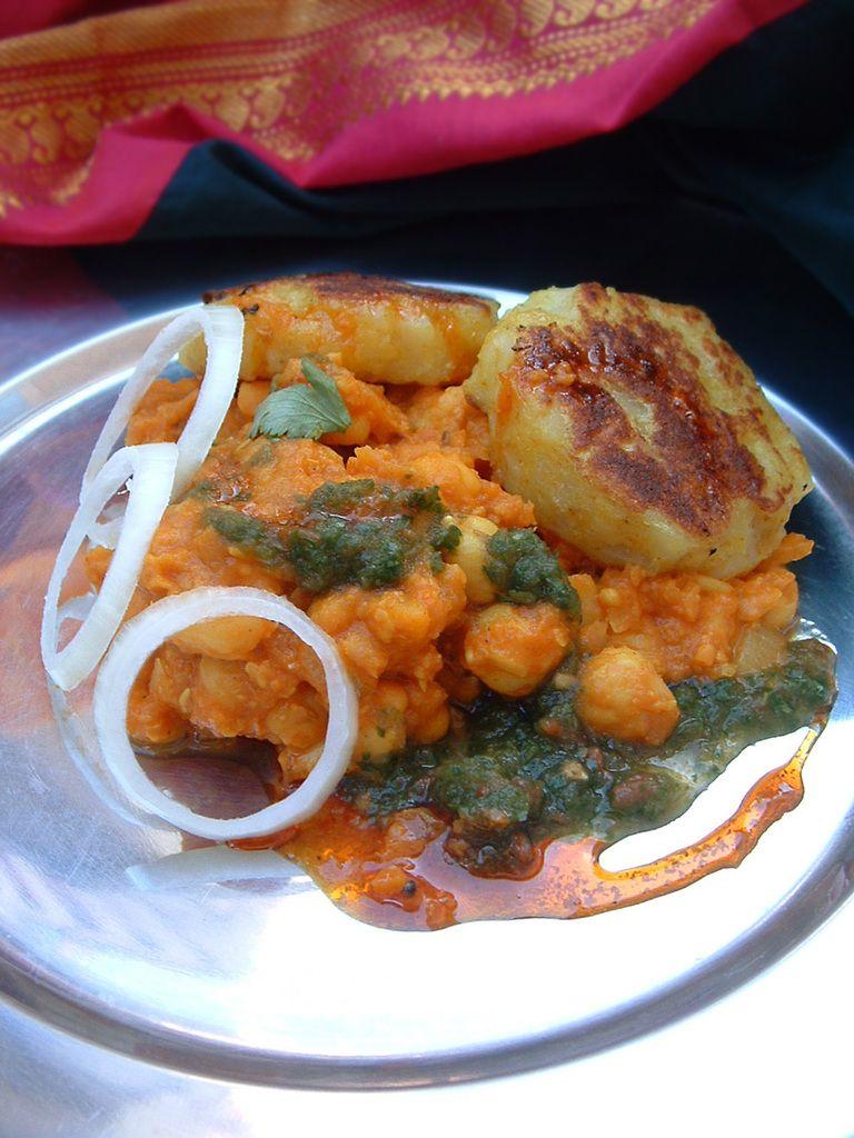 Faire Ma Cuisine recette indienne végétarienne chole tikki en vidéo bonsoir et