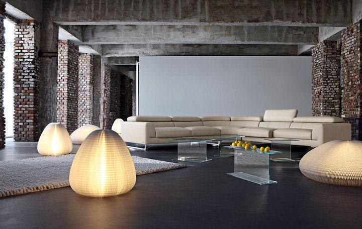 Marvelous Creative Living Room Ideas If You Have The Space, The Floor Lighting Is  Interesting