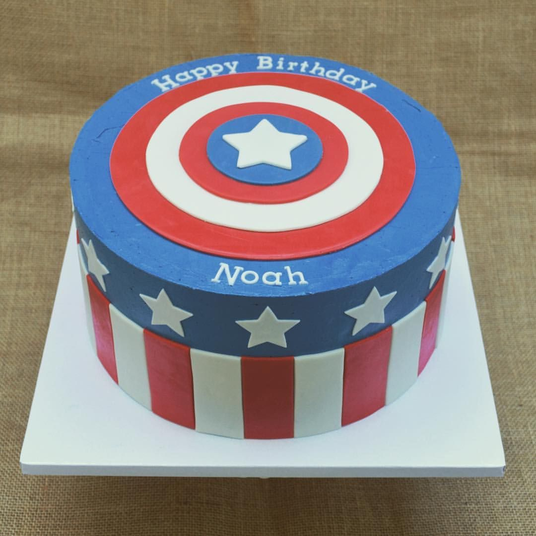 Captain america cake see this instagram photo by