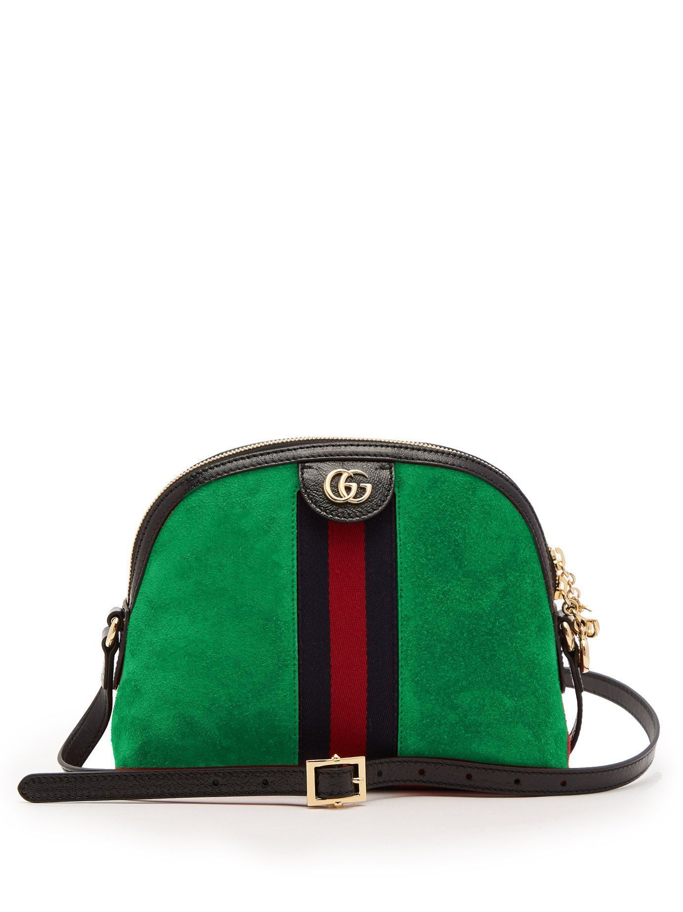 905dbcd993e Gucci Ophidia GG acid green suede cross-body bag
