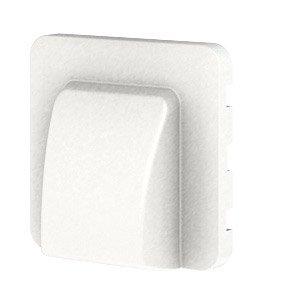 Cache Sortie De Câble Cosy Lexman Blanc Blanc N0 Mat En
