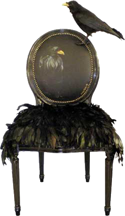 Xx..tracy Porter..poetic Wanderlust..  Raven Chair Www.