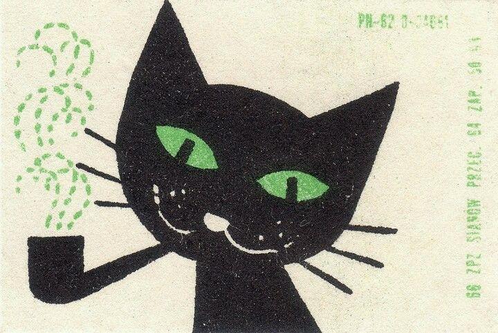 Mon chat noir!