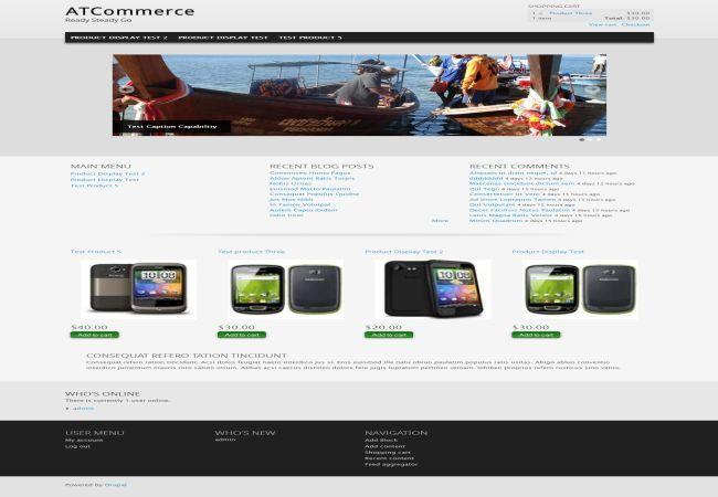 drupal ecommerce themes ubercart