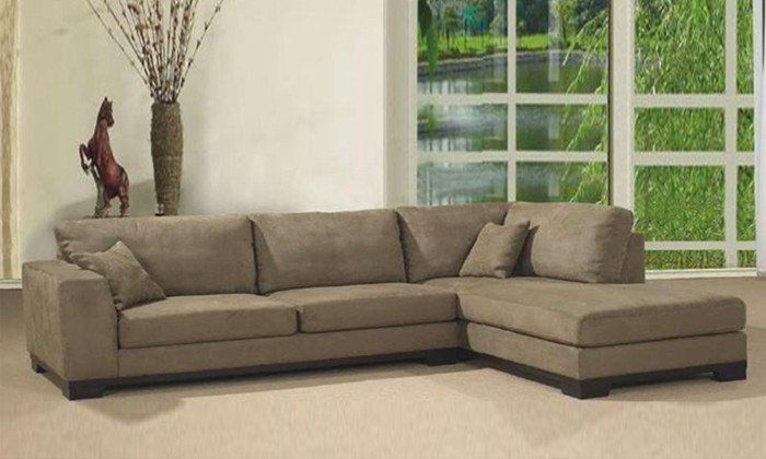 Living Room Fabric Sofa L Shaped With Detachable Wash Fabric