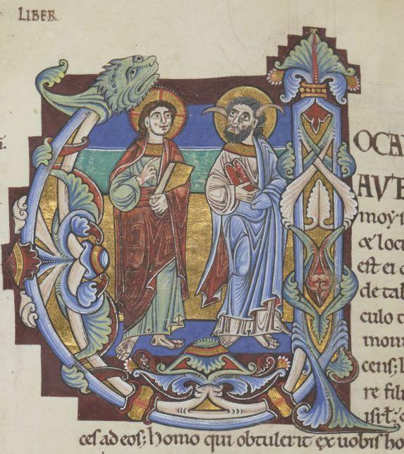 Un Manuscrit Hors Norme   La Bible De Chartres