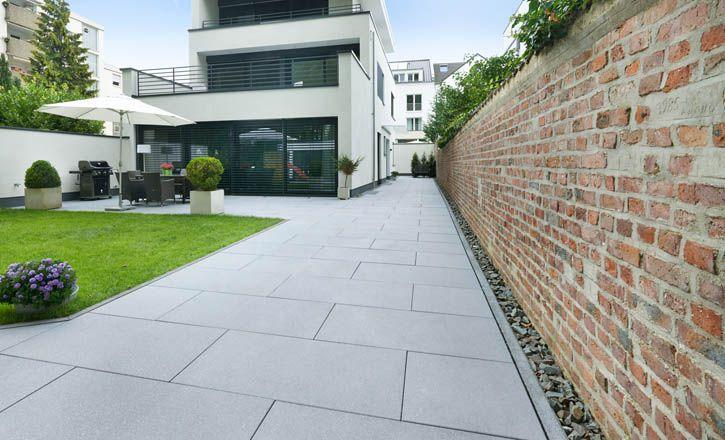 Bildergebnis Fur Terrassenplatten Hellgrau Hausbau