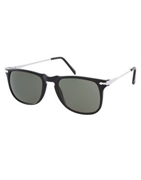 1f860d85751 Enlarge Reclaimed Vintage Wayfarer Keyhole Sunglasses Latest Outfits
