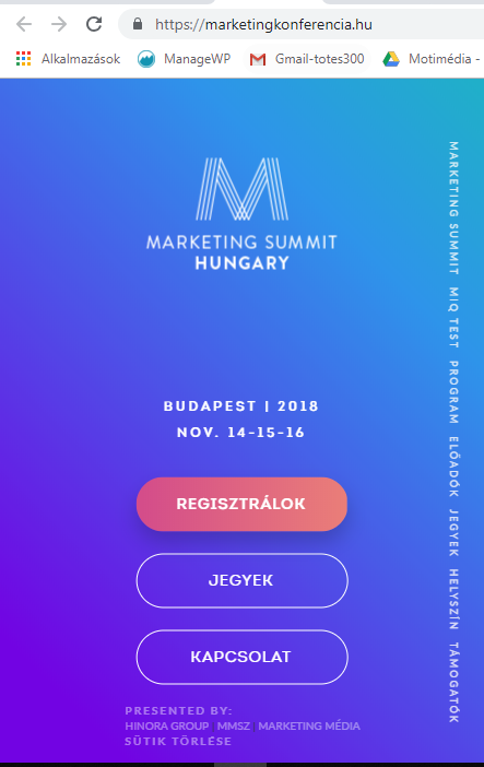 Szinatmenet Marketing Program Marketing Budapest