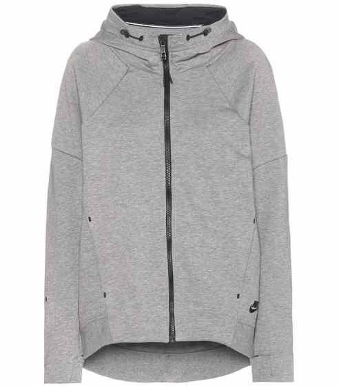 Tech En Nike Mélangé À Fleece Activewear Coton 0 Veste Capuche 3 XwUqwH