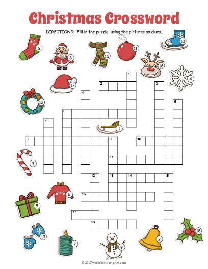 free printable christmas crossword esl worksheets christmas crossword free christmas. Black Bedroom Furniture Sets. Home Design Ideas