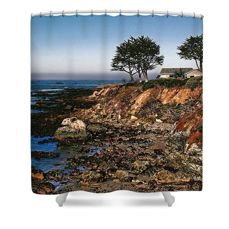 Coastal Living Shower Curtain For Sale By Judy Vincent Coastal
