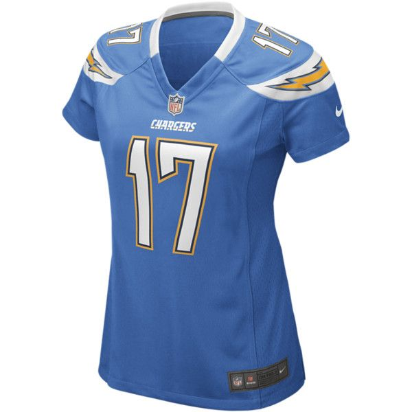 Nike Nfl San Diego Chargers Philip Rivers Women S Football Alternate 95 Liked On Polyvore Womens Football San Diego Chargers Nfl Los Angeles