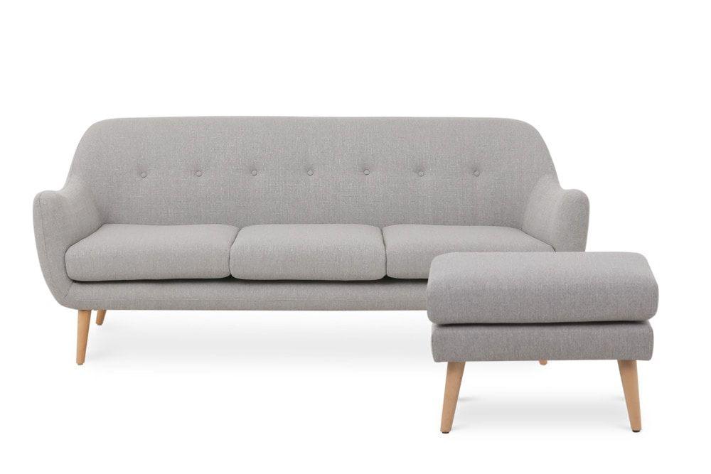 Capella Sofa With Ottoman Products In 2019 Sofa 3 Seater Sofa Ottoman