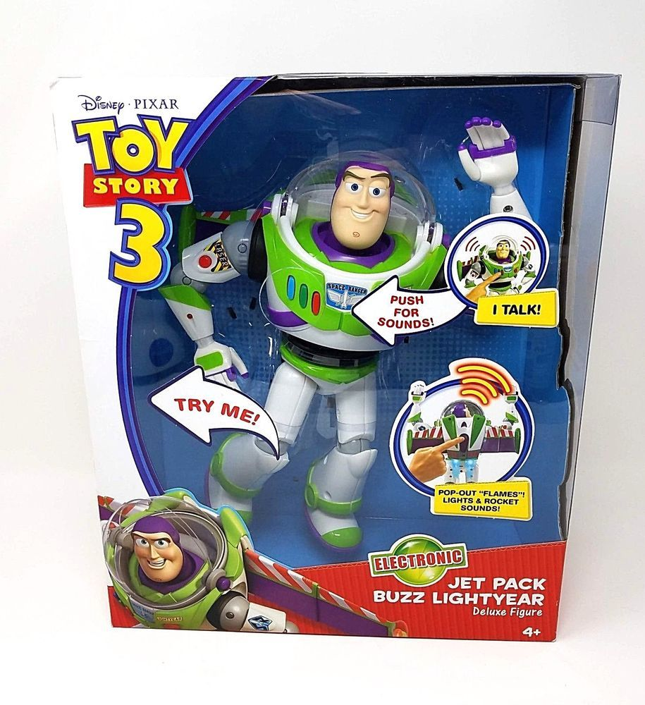 Toy Story 3 Electronic Jet Pack Buzz Lightyear Deluxe