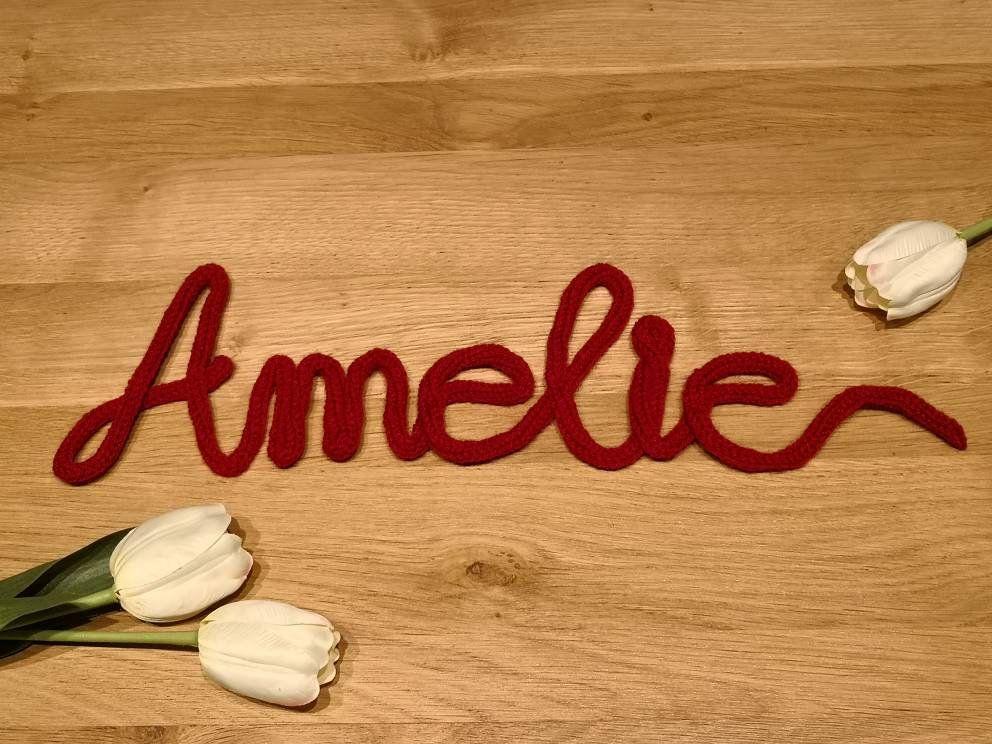 Schriftzug / Name personalisiert - Wanddeko - Wohnzimmer - WG - Zimmer - Kinderzimmer - Türschild
