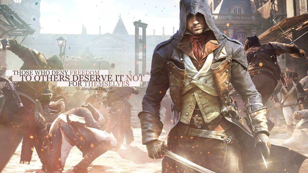 Assassins Creed Unity Wallpaper 1440p By Mastersebix Deviantart