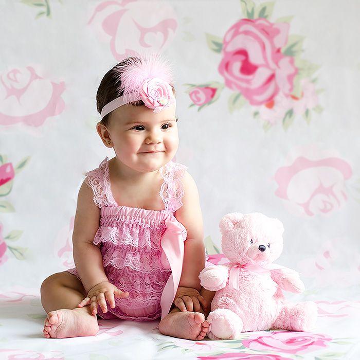 Diademas y tocados para bebs con peleles y atrezzo a juego para