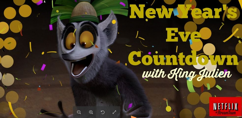 Netflix for New Year's Eve All Hail King Julien New