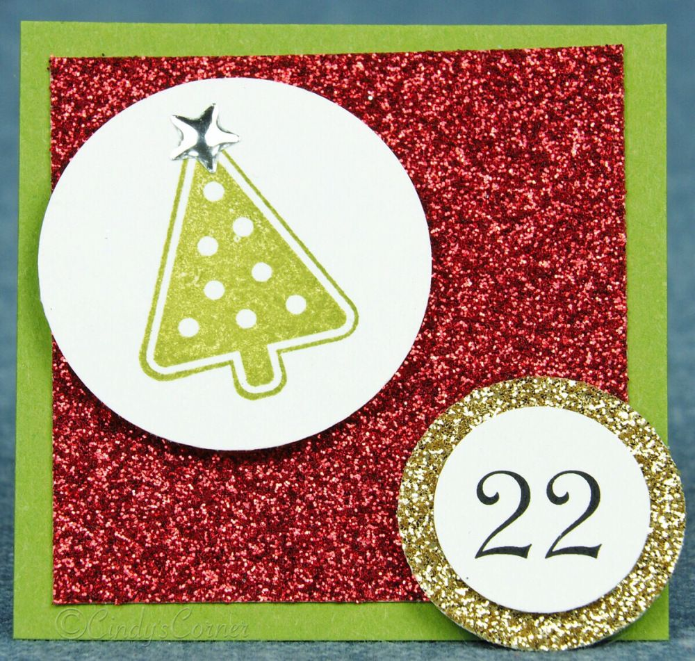 Advent Calendar Countdown to Christmas Day 22 (With