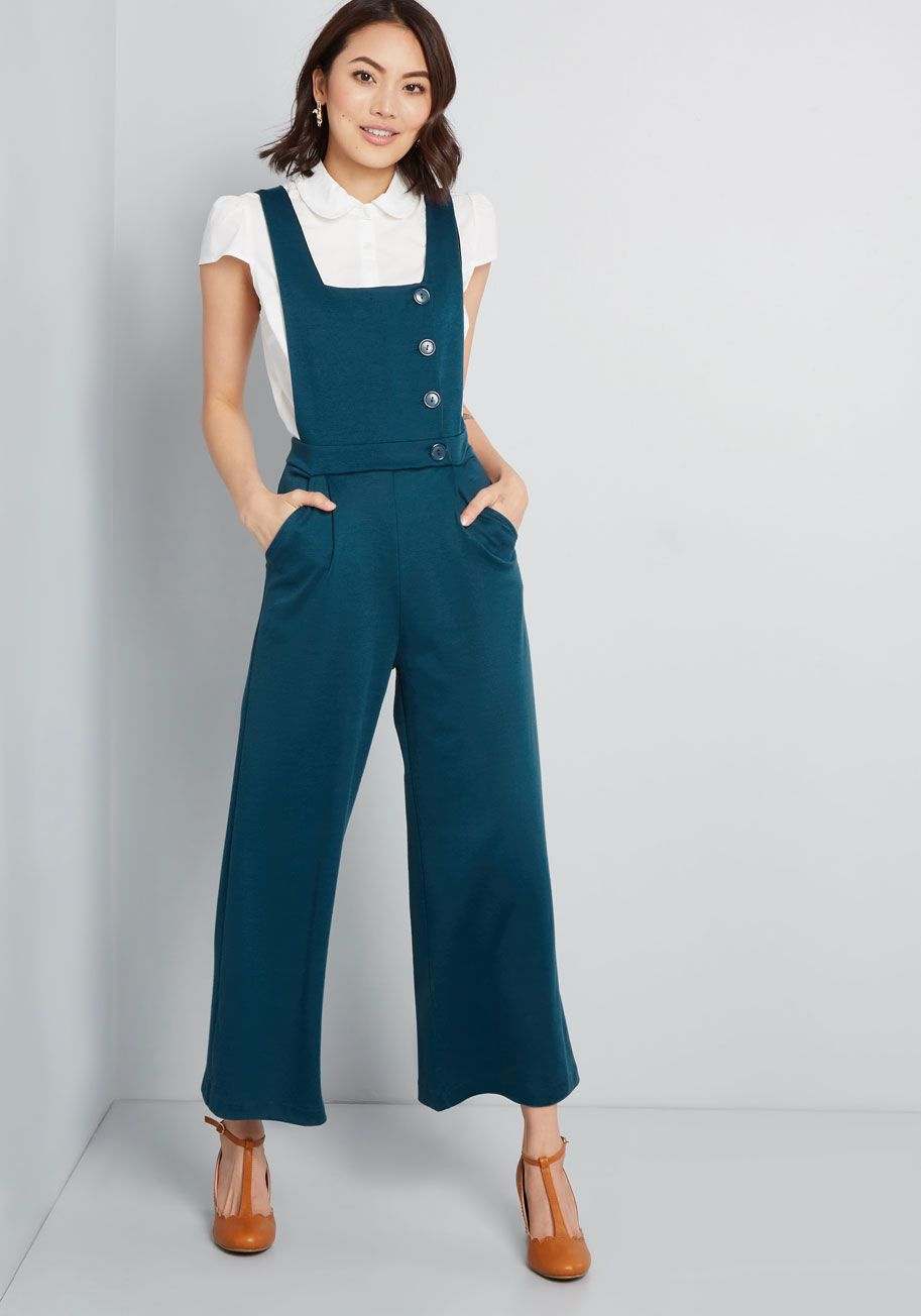 0dd075f74f6 Belief in Buttons Knit Jumpsuit in 2019