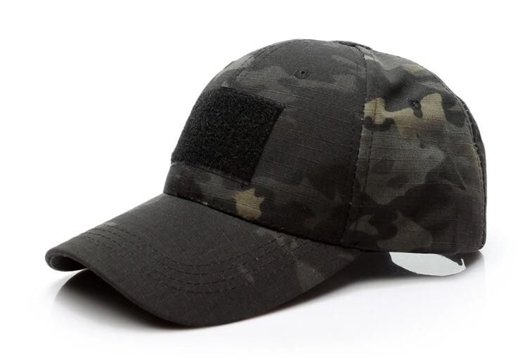 Outdoor Forces Operator Tactical Camo Woodland Patch Baseball Hats Baseball Caps