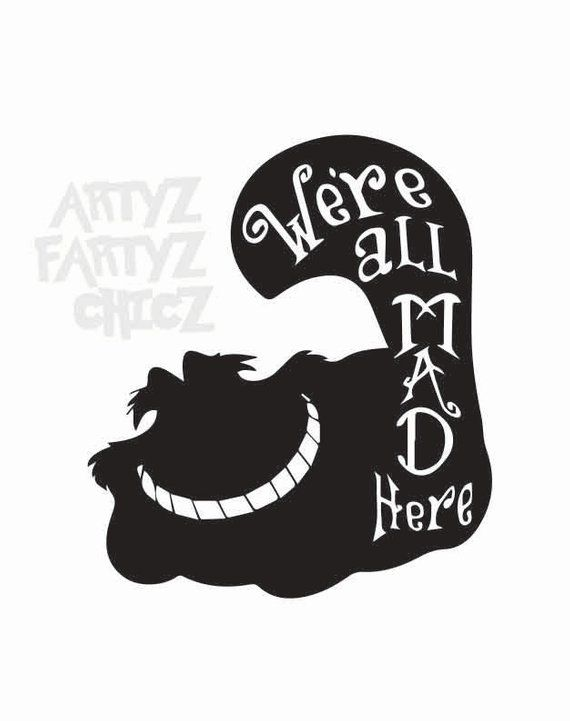 14++ Alice in wonderland clipart black and white ideas