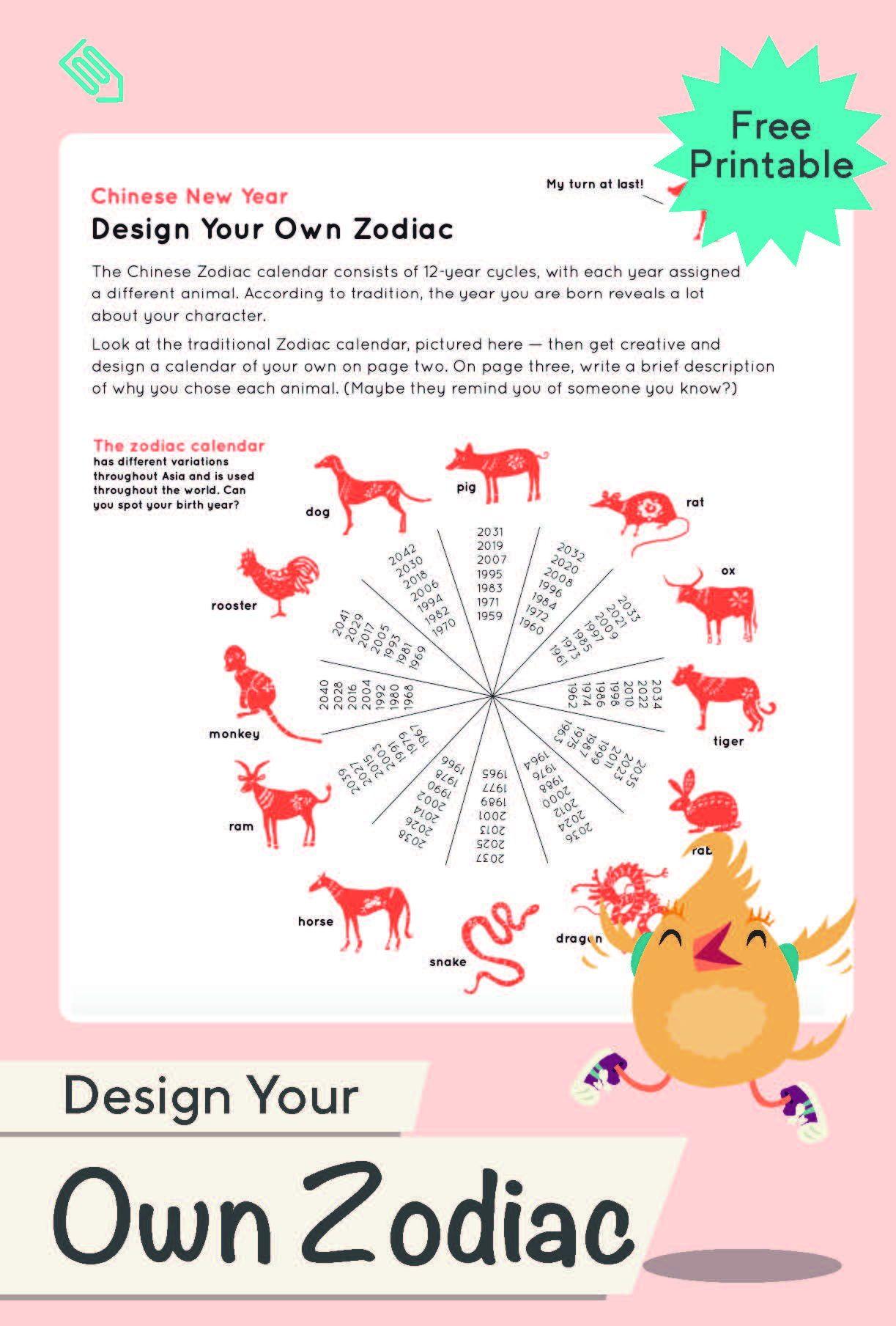 Design Your Own Zodiac