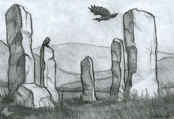 Craigh na Dun by Sesroh on DeviantArt