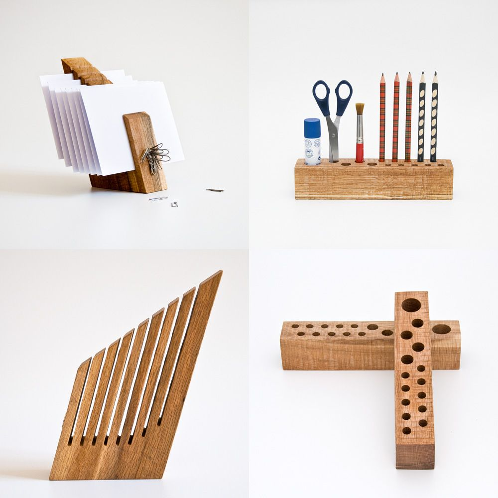 Plywood workspace table buscar con google design - Desk set organizer ...