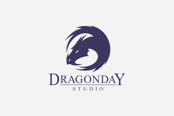 Dragon Day Logo by A.R STUDIO on Creative Market