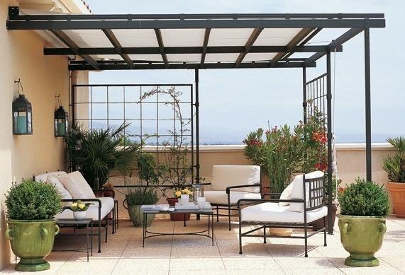 Techos para terrazas exterior pinterest techos para for Patios y terrazas