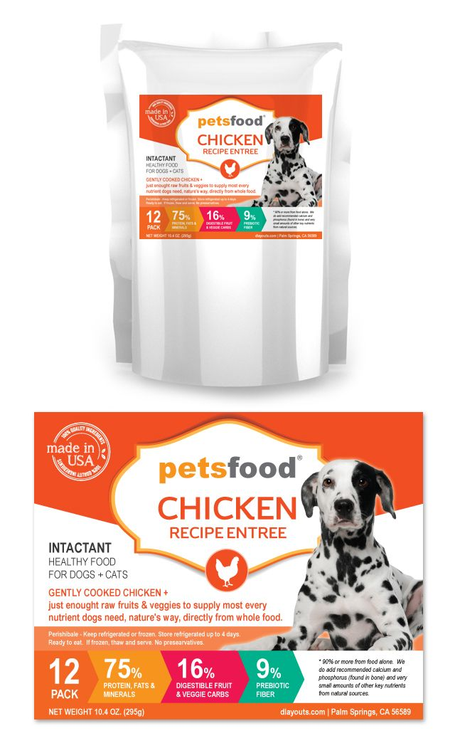 fresh chicken dog food label template http www dlayouts com