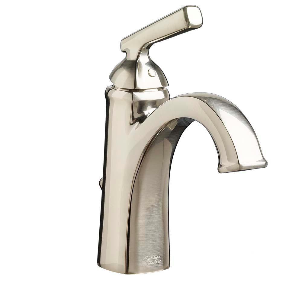 American Standard Edgemere Single Hole Single-Handle Bathroom Faucet ...