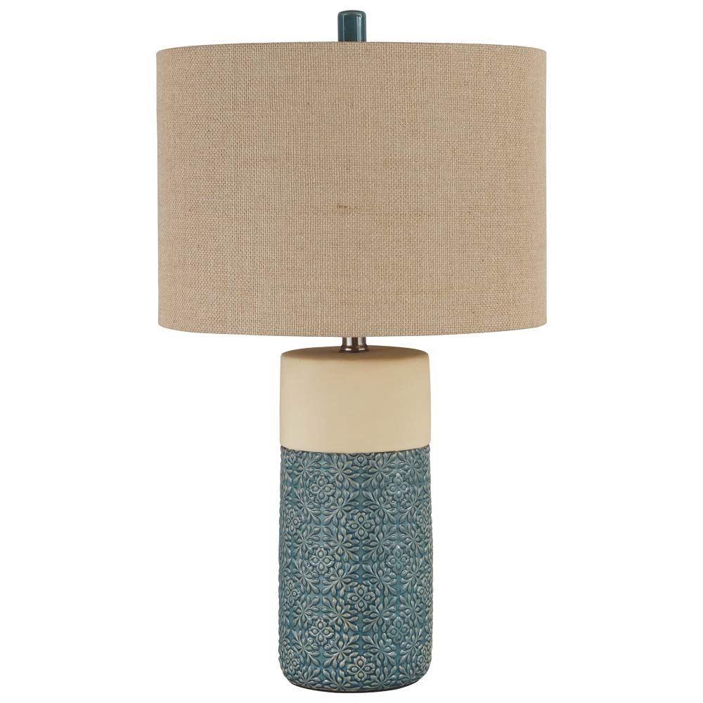 Ashley Furniture Signature Design Evalyn Ceramic Table Lamp Set Of 2 Green You Can Find More Details By Visi Ceramic Table Lamps Table Lamp Lamp Sets