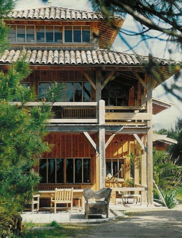 Le cap ferret villa de vacances avec 7 chambres pour 15 personnes r servez - Maison starck cap ferret ...