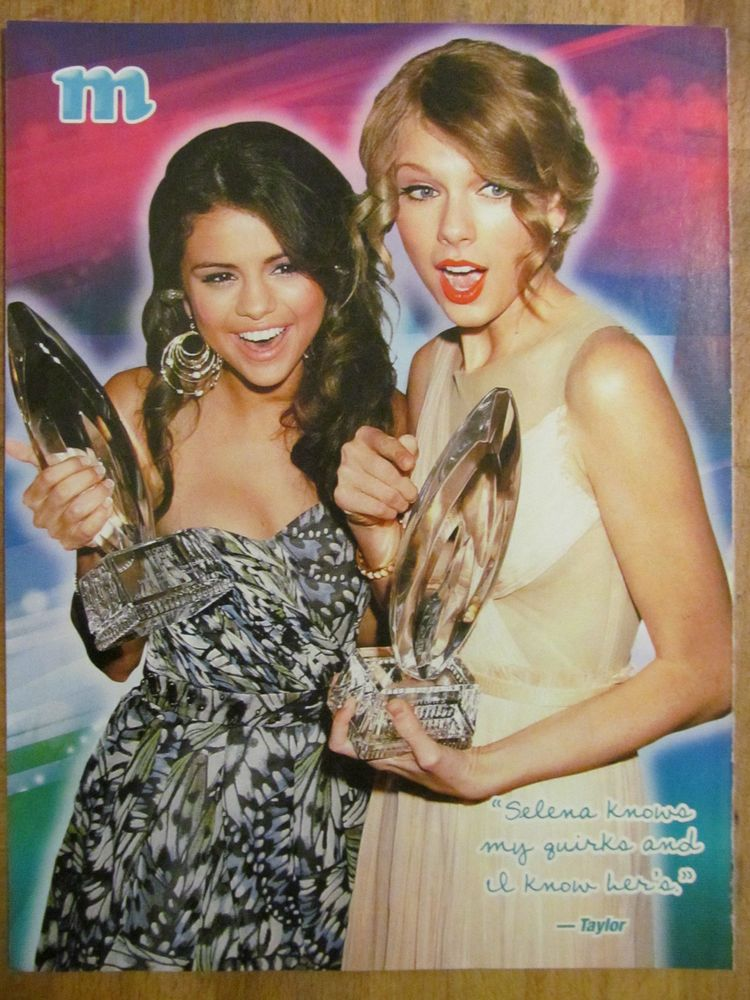 Selena Gomez and Taylor Swift, Full Page Pinup