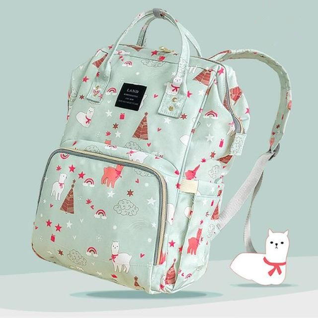 Diapering Baby LAND Diaper Bag Backpack Baby Organizer Maternity Bags For Mother Handbag Baby