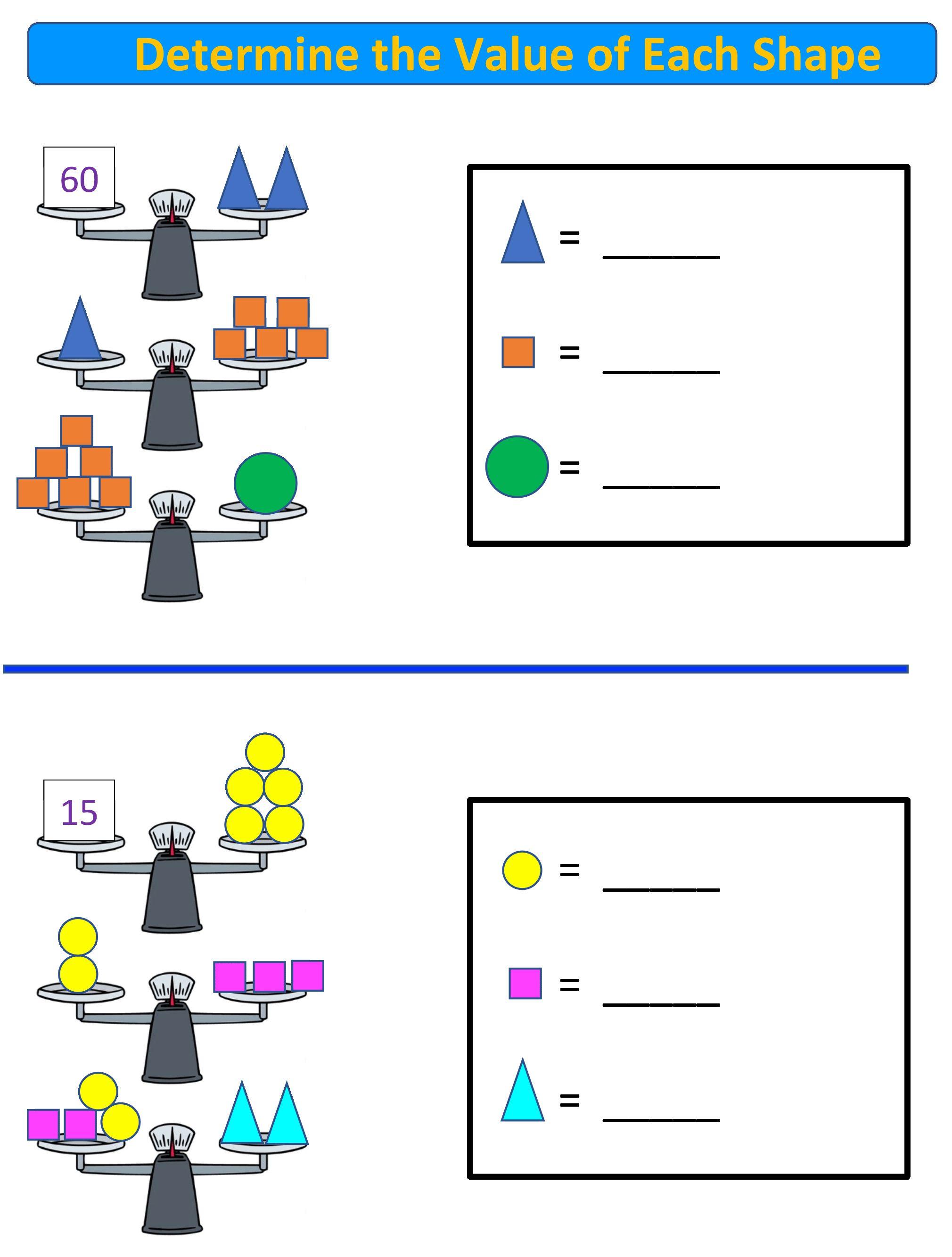 Free Math Worksheet For 3rd 6th Grade Balance Scale Math Balanced Math Free Math Worksheets Free Math [ 2667 x 2020 Pixel ]