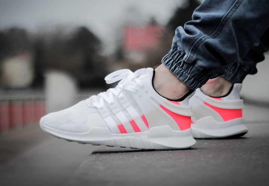 low priced 68cea d9aaf Adidas EQT Support ADV Blanche Crystal White