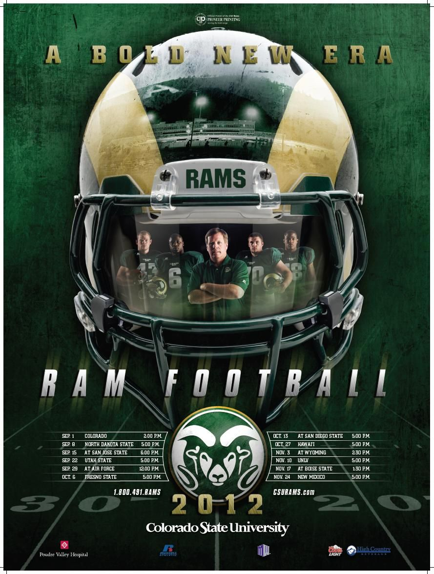 Csu Football Schedule Poster 2nd Best In Nation Team Schedule College Football Rankings College Football Schedule