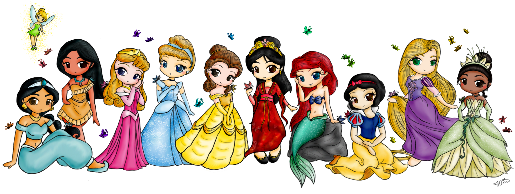 403 Forbidden Disney Princess Drawings Chibi Disney Princess Drawings