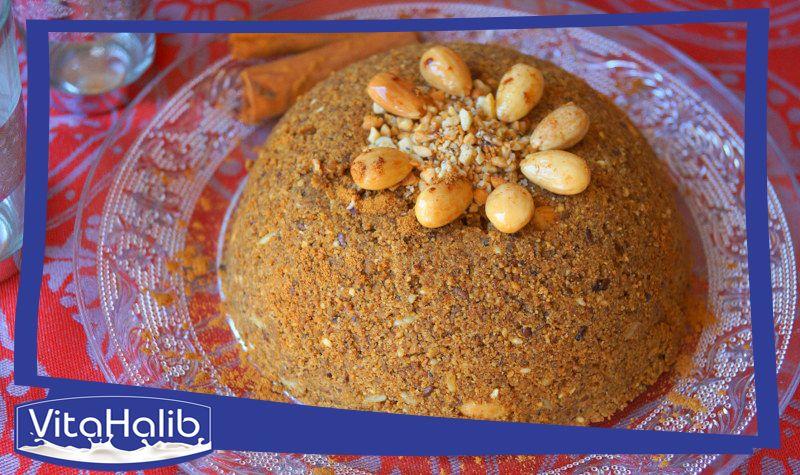 الزميطة أو البسيسة أو الروينة هي حلوى مشهورة في المغرب العربي وهي خليط من القمح مع مجموعة من الأعشاب الطبيعية والصحية وتعرف الزميطة بفو Food Oatmeal Breakfast
