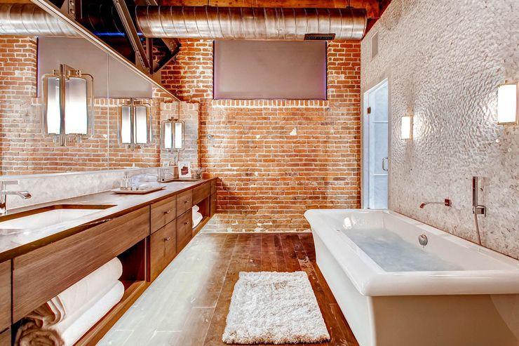 Créative et originale salle de bain au design industriel Dream