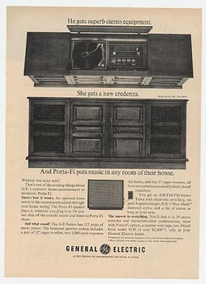 Porta Tv Stereo.Porta Fi Back In The Day Old Tv Vintage Retro Ads